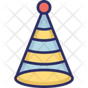 Birthday Cap Birthday Cone Hat Cone Hat Icon