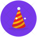 Birthday Cap Party Cap Cone Hat Icon