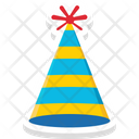 Birthday Cap Party Cap Birthday Clown Icon