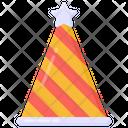 Party Cap Birthday Cap Birthday Hat Icon