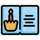 Birthday Card Party Icon