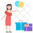 Birthday Celebration Birthday Party Party Surprise Icon