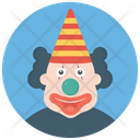 Birthday Clown Party Clown Circus Joker Icon