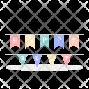Birthday Flag Icon