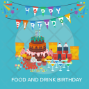 Birthday food Icon