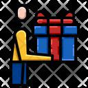 Birthday Gift Box Icon