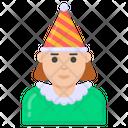 Birthday Girl Icon