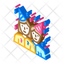 Guests Birthday Event Icon