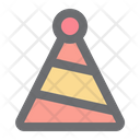 Birthday Cone Hat Icon