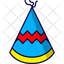 Birthday Hat Cone Icon