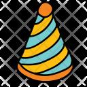 Birthday Hat Cap Icon