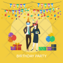 Birthday Party Icon