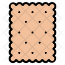 Biscuit Cracker Snack Icon
