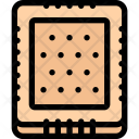 Biscuit Candy Shop Icon