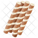 Stick Wafer Biscuit Icon