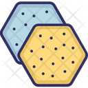 Biscuits Crackers Snacks Icon