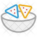 Biscuits Bowl Cookies Icon
