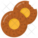 Cookies Biscuits Chocolate Chips Icon