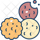 Biscuits Cookies Bakery Icon