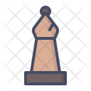 Bishop Chess Piece Icon