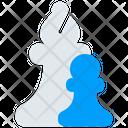 Figure Bishop Pawn Icon