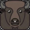 Bison Horn Wild Icon