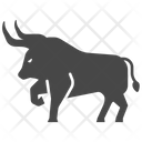 Bison Bull Bullfighting Icon