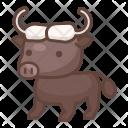 Bison Animal Wild Icon