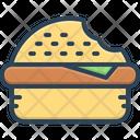 Bite Burger Notch Icon