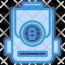 Bit Coin Bag Icon