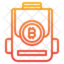Bag Money Bitcoin Cryptocurrency Bit Coin Bag Cryptomcryptocurrency Icon