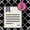 Bitcoin Trade Business Icon