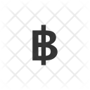 Bitcoin Baht Currency Icon