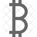 Bitcoin Digital Online Icon