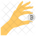 Bitcoin Cryptocurrency Internet Money Icon