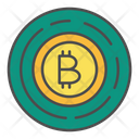Bitcoin Cryptocurrency Finance Icon