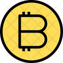 Bitcoin Crypto Cryptocurrency Icon