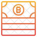 Bitcoin Cash Money Icon
