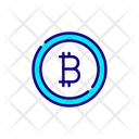 Bitcoin Coin Cryptocurrency Icon