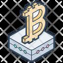 Bitcoin Cryptocurrency Blockchain Icon