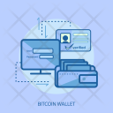 Bitcoin Wallet Login Icon