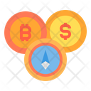 Cryptocurrency Coin Money Bitcoin Cryptocurrency Bitcoin Dollar Icon