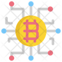Digital Bitcoin Icon