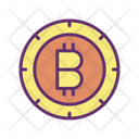 Cryptocurrency Bitcoin Digital Money Icon