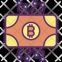 Bitcoin Technology Bitcoin Digital Money Icon