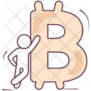 Bitcoin Cryptocurrency Virtual Currency Icon