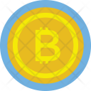 Coin Bitcoin Cryptocurrency Icon