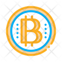 Bitcoin Coin Fintech Icon