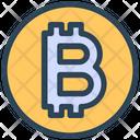 Seo Bitcoin Money Icon