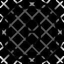 Bitcoin Coin Crypto Currency Icon